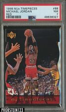 1998 MJx Timepieces Red #88 Michael Jordan Chicago Bulls HOF PSA 7 NM