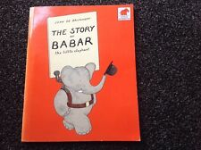 The Story of Babar by Jean de Brunhoff vintage 1990 paperback classic