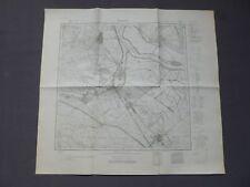 Landkarte Meßtischblatt 3757 Brieskow Finkenheerd, Wiesenau, Ziltendorf, 1945