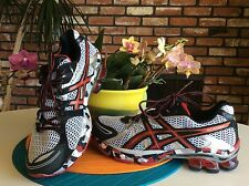 $150 NEW ASICS GEL SENDAI Running SHOES T31DQ White Red Black Camo Men's Sz 9