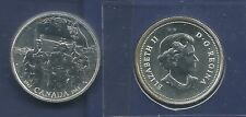 Canada 25 cents 2005 Liberation 60th anniversary end WWII 3,500 minted very rare