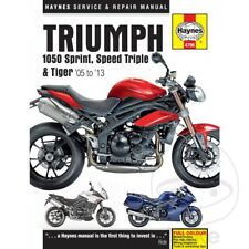 Triumph Speed Triple 1050 R EFI ABS 2012 Haynes Service Repair Manual 4796