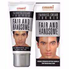 Emami Fair and Handsome Fairness Cream for Men Lightening Cream 60g- FREE SHIP!!