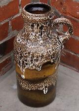 Scheurich  FatLava WGP 60s Design Vase 407-35 Vintage  Midcentury Modernist