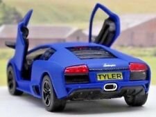 PERSONALISED PLATE Lamborghini Boys Kids Toy Dad Model Car Birthday Present Gift