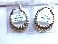 Mother/ Daughter Combo - Bamboo & Shrimp Hoops - One price for two.