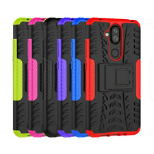 Nokia 8.1 Heavy Duty Rugged Tough Kickstand Shockproof Strong Case Cover