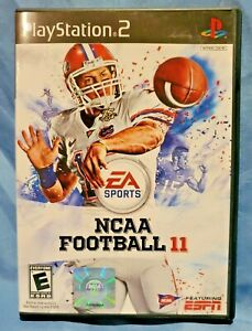 NCAA Football 11 Rare Sony PlayStation 2 PS2 CIB Complete Game