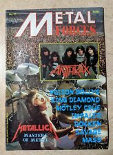 Metal Forces Magazine 1986 Issue 17 Metallica,King Diamond, Kreator, Motley Crue