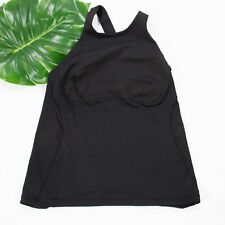 New listing Lululemon Spin It To Win It Tank Sz 12 Solid Black EUC Activewear