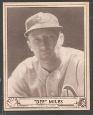 1940 Play Ball high #195 Dee Miles Phil A's Ex-Mt!