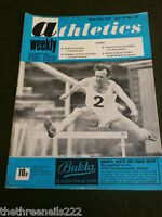 ATHLETICS WEEKLY - DANGERS OF OVER TRAINING - MAY 29 1971