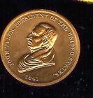 John  TYLER INAUGURAL  Inauguration TOKEN Medallion Medal