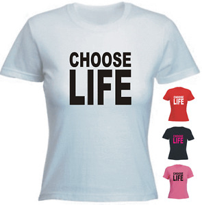 CHOOSE LIFE Wham Retro Brand New Tshirt