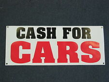 CASH FOR CARS BANNER Sign High Quality NEW Buy & Sell Trucks Vans 4 Pawn or Lot