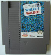 WHERE'S WALDO? WHERES WALDO NES NINTENDO VIDEO GAME TESTED AND WORKING