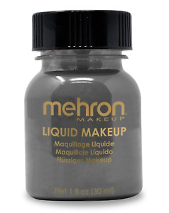 MEHRON LIQUID MAKEUP_FACE,BODY,HAIR PAINT SPECIAL FX_COLOR STAGE MAKEUP 1OZ !!!!