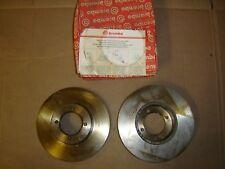 BREMBO (2) FRONT BRAKE DISC ROTOR 25108 1048 NIS*SAN 200SX