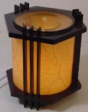 ELECTRIC OIL TART WARMER BURNER DIFFUSER WOODEN FRAGRANCE OIL NIGHTLIGHT Dimmer
