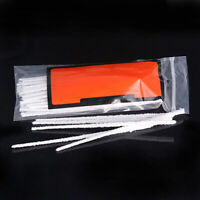 CW_ 50x Intensive Cotton Pipe Cleaners Smoking / Tobacco Pipe Cleaning Tool Whit