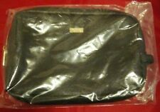 Tarte Cosmetic Makeup Bag Black Zip Around Pouch     A