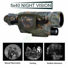5X40 Night Vision Goggles Monocular Security Camera IR Binoculars For Hunting