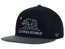 FORTY SEVEN BRAND California Cal Core Two Tone Black Snapback '47 New Era
