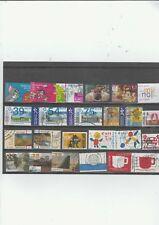Nederland kaartje  gebruikte EURO zegels
