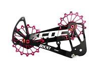 KCNC SXX1 Chape Galets Oversized Vélo Chemin VTT OPWS pour Sram Eagle XX1 Rouge