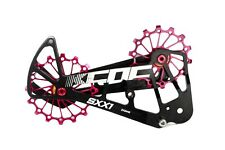 KCNC SXX1 Mountain Cycling Bike Oversized Pulley Cage for Sram Eagle X01 Red