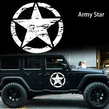20'' Distressed Army Star Decal Vinyl Sticker Hood Body Cars Truck Off-Road