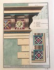 Edizioni Falteri Florence Italy hand color classical Composite architecture