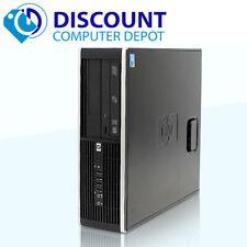 Fast HP SFF Pro Desktop Computer PC Dual Core 2.8GHz 4GB 250GB Windows 10 Home