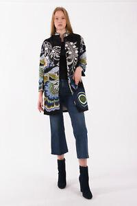 DESIGUAL Women's Coat Size 38 EU RRP: 189 EUR