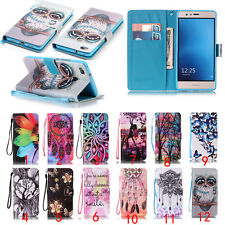 Luxury Leather Card Slot Stand Cover Flip Wallet Phone Case For LG/Huawei/Sony