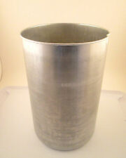 The Rival Co. Replacement Parts Ice Cream Maker Metal Canister Model 8401