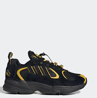 Adidas WANTO Yung-1 Running Sneakers Shoes EE9254 Black Yellow Size 5-12