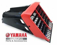 NEW YAMAHA BANSHEE YFZ350 OEM RED COVER GRILL FRONT PANEL,TANK SIDE PANELS BLACK