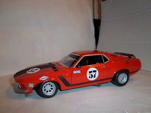 1/18 of 1970 Mustang TransAm racer #57  by Welly In BOX