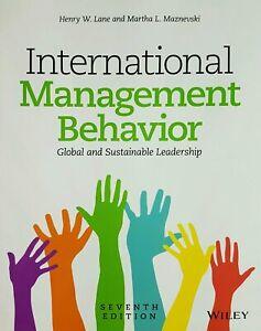 International Management Behavior