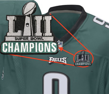 Philadelphia Eagles Champions Football Jersey Patch - 2018 Super Bowl Foles LII