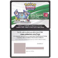 Pokemon TCGO Kommo-o GX SM71 Collection Box ONLINE CODE Black Star Promo SKU#81