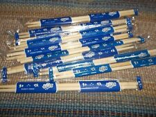 50 Chopsticks  Wood Plain Beautiful  NEW (50 Pairs) Each pair is wrapped
