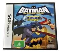 Batman the Brave and the Bold DS 2DS 3DS Game *Complete*