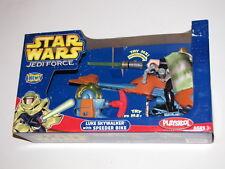 STAR WARS Battle Packs UNLEASHED Snowspeeder LUKE SKYWALKER Empire Force Jedi