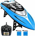 H108 RC Racing Boat 20+ km/h High Speed Remote Control Boats Pool Toy or Lake US