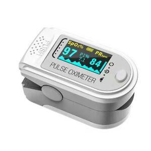 Accurate Fingertip Pulse Oximeter Blood Oxygen Monitor Saturation SpO2 PR PI UK