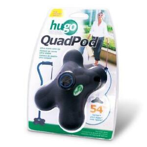 Hugo Mobility Quadpod Ultra Stable Cane Tip with Compact Quad Design, 3/4