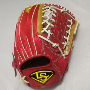 "Louisville Slugger Air IV Series 12.5"" Red/Gold Outfield RHT Baseball Glove"
