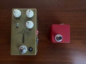 JHS Morning Glory V4 Overdrive Pedal with Red Remote